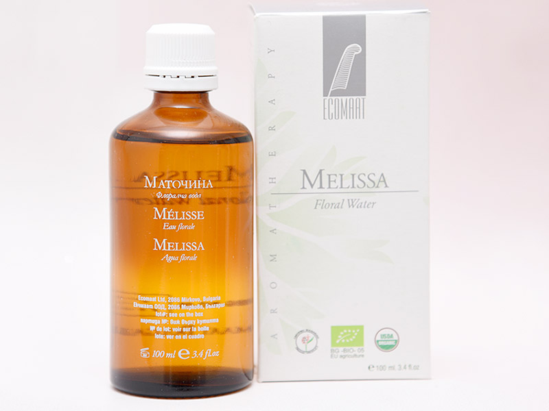 Ecomaat Melisse – Floral Wasser (Gesichtstonic)
